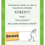Stres, sıkıntı, stres yönetimi, psikolog, terapist
